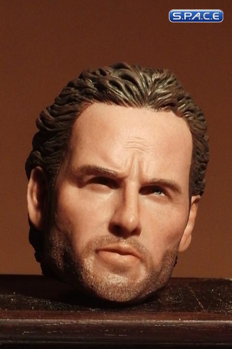 1/6 Scale Rick Grimes Custom Head