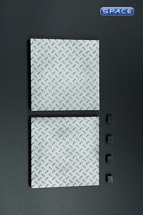 1/6 Scale Figure Platform (silver)