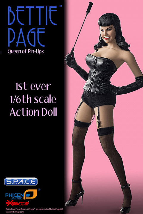 1/6 Scale Bettie Page Action Doll - S.P.A.C.E - space