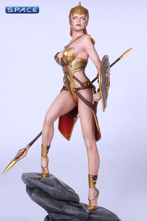Athena Statue by Wei Ho (Fantasy Figure Gallery - Greek Mythology)