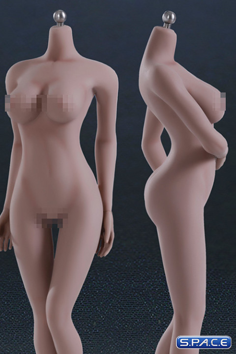 1/6 Scale Seamless Female suntan emulated Body large breast / headless (Super-Flexible)