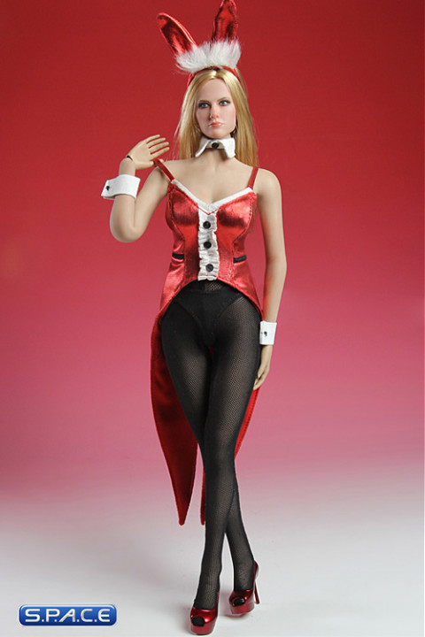 1/6 Scale red Bunny Costume