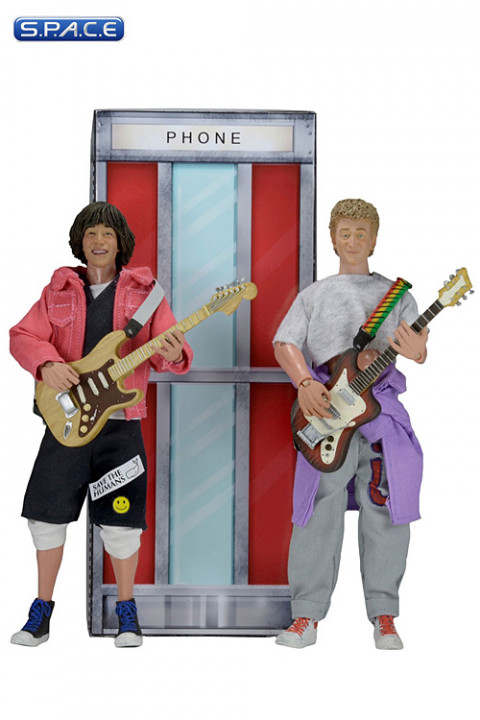 Bill & Ted Figural Doll 2-Pack (Bill & Teds Excellent Adventure)