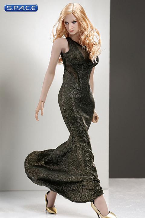 1/6 Scale gold Dress Set