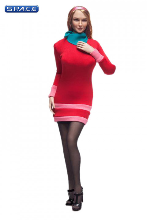 1/6 Scale Mystery Girl Female Character Set Daphne red