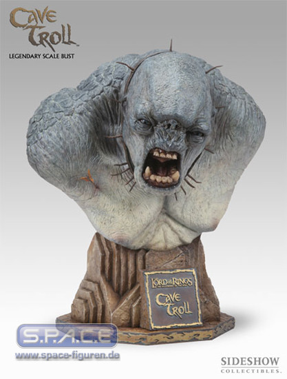 The Cave Troll Legendary Scale Bust (Lord of the Rings)