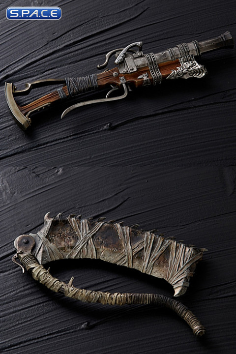 1/6 Scale Hunters Saw Cleaver & Blunderbuss Arsenal Set (Bloodborne: The Old Hunters)