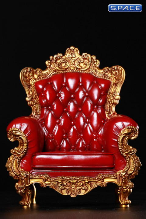 1/6 Scale red Single Sofa 3.0