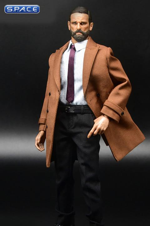1/6 Scale Mens Formal Long Suit Set B