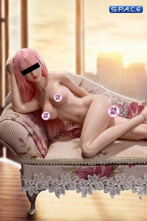 1/6 Scale Asian Girl type Seamless pale Body / medium breast / headless