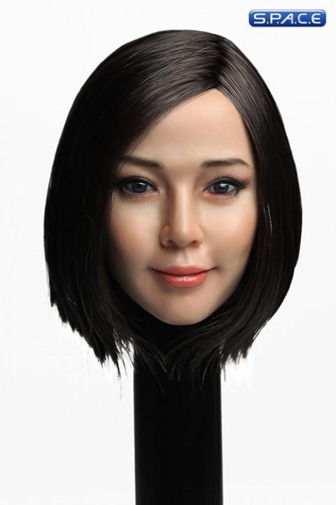 1/6 Scale Reika Head Sculpt (short black hair)