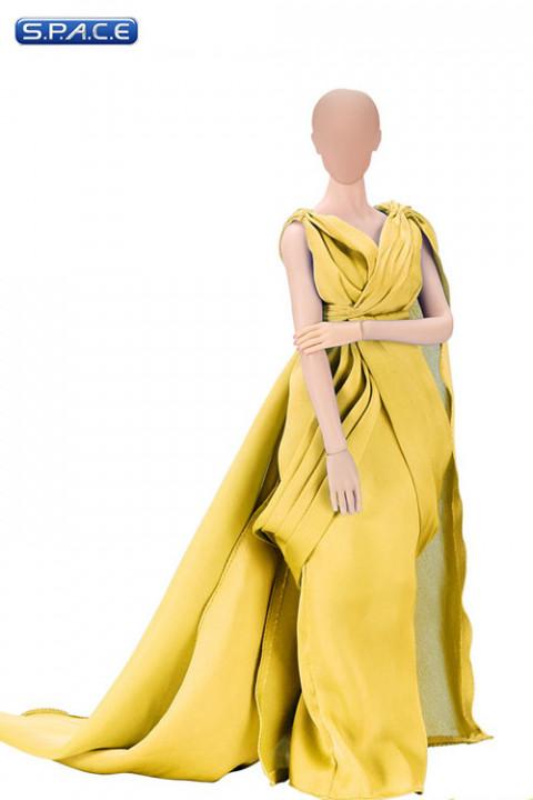 1/6 Scale yellow Full Evening Dress