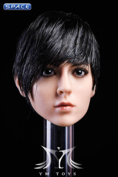 1/6 Scale Gloria Head Sculpt (black hair)