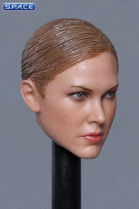 1/6 Scale Krista Head Sculpt (brunette hair)