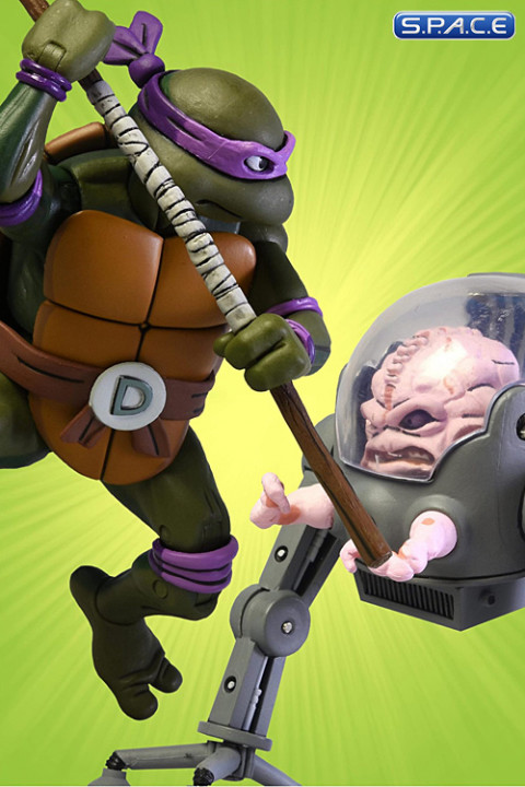 Donatello vs. Krang 2-Pack (Teenage Mutant Ninja Turtles)