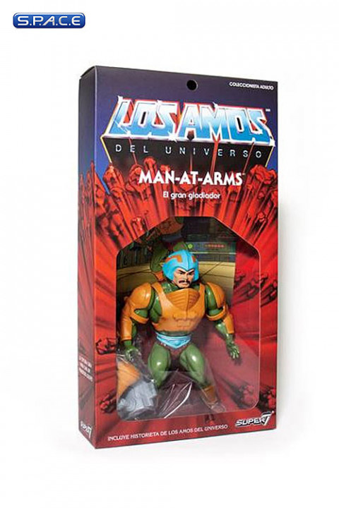 Man-at-Arms Vintage »Los Amos« Packaging (Masters of the Universe)
