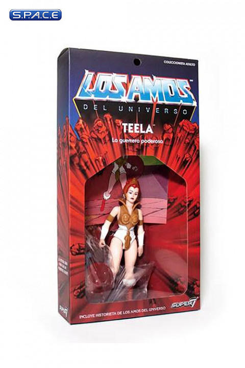 Teela Vintage »Los Amos« Packaging (Masters of the Universe)