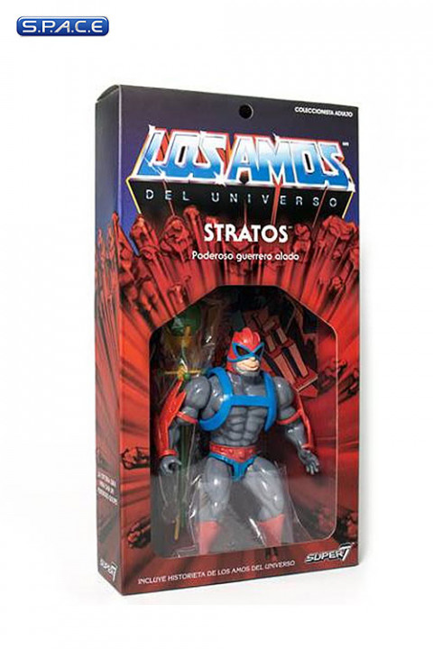 Stratos Vintage »Los Amos« Packaging (Masters of the Universe)