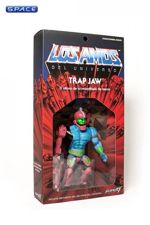 Trap Jaw Vintage »Los Amos« Packaging (Masters of the Universe)