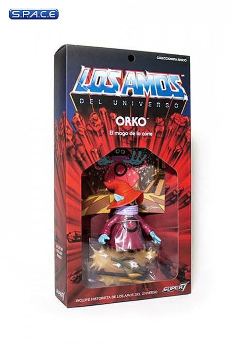 Orko Vintage »Los Amos« Packaging (Masters of the Universe)