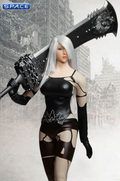1/6 Scale black Android Cosplay Set