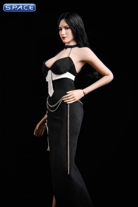 1/6 Scale black Party Dress