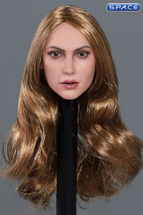 1/6 Scale Victoria Head Sculpt (long blonde hair)