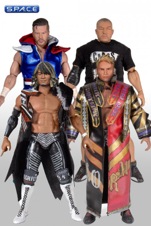 4er Komplettsatz: New Japan Pro Wrestling Wave 1 (NJPW)