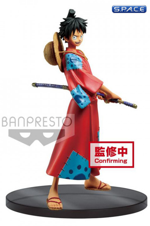 Monkey D. Luffy DXF PVC Statue - The Grandline Men Wanokuni Vol. 1 (One Piece)