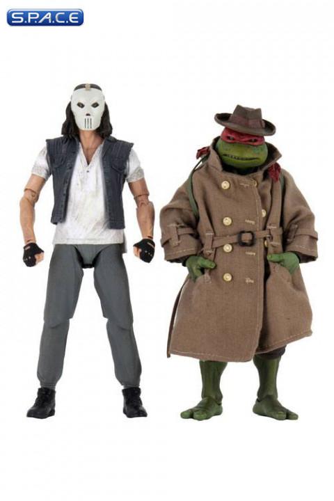 Casey Jones & Raphael in Disguise 2-Pack (Teenage Mutant Ninja Turtles)