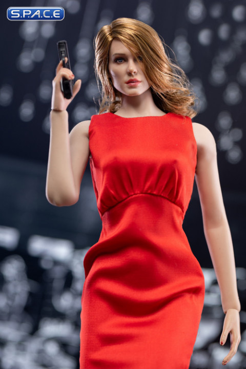 1/6 Scale Spectre Girl Character Set (red)