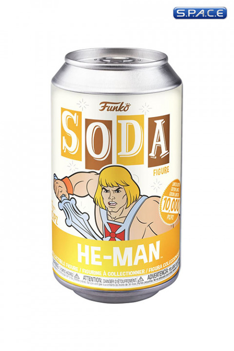 He-Man Soda Figure (Masters of the Universe)