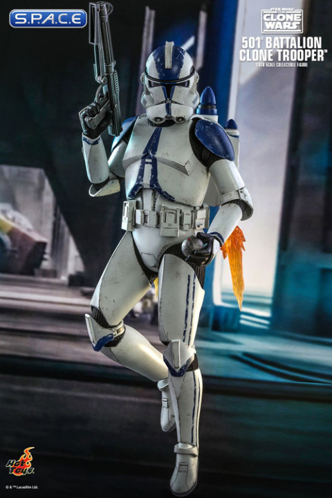 1/6 Scale 501st Battalion Clone Trooper TV Masterpiece TMS022 (Star Wars - The Clone Wars)