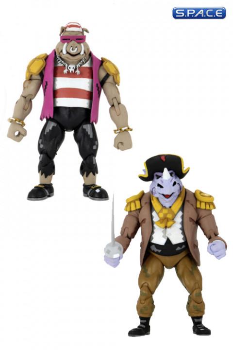Pirate Rocksteady & Bebop 2-Pack (Teenage Mutant Ninja Turtles: Turtles in Time)