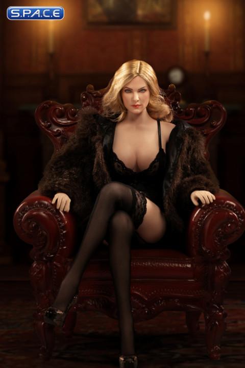 1/6 Scale exquisite underwear medium size (black)