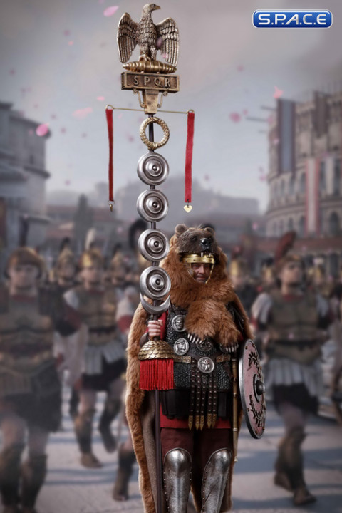 1/6 Scale Roman Camp Flag Bearer