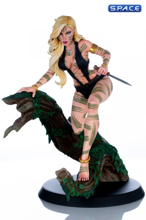 Sheena Statue by Scott Campbell - Night Stalker Variant (Women of Dynamite)
