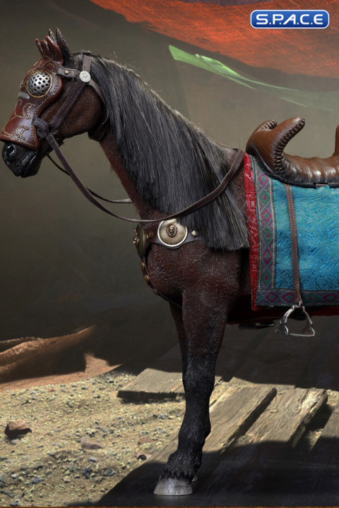 1/6 Scale War Horse of Persian Cavalry