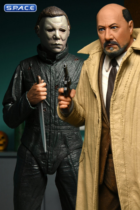Ultimate Michael Myers & Dr. Loomis 2-Pack (Halloween 2)