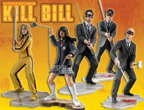5er Komplettsatz: Kill Bill Series 1