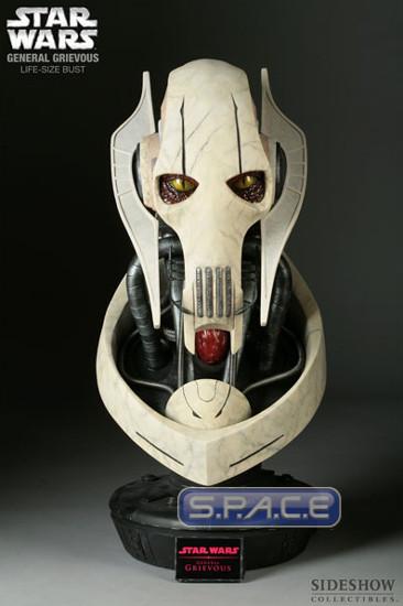 1:1 General Grievous life-size Bust (Star Wars)