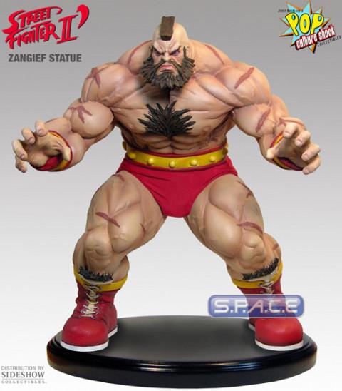 Zangief Statue Street Fighter S P A C E Space Figuren De