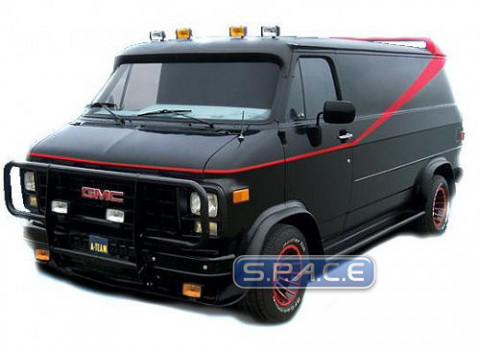 1 18 gmc vandura van die cast hot wheels elite the a team. Black Bedroom Furniture Sets. Home Design Ideas