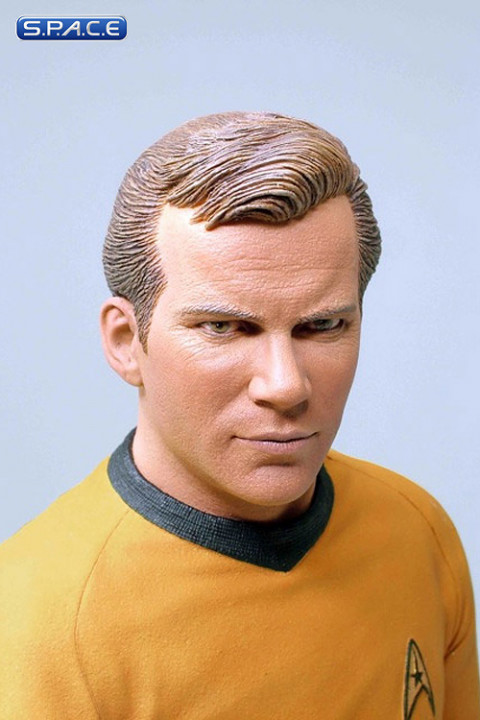 william shatner as captain james t kirk bust star trek. Black Bedroom Furniture Sets. Home Design Ideas
