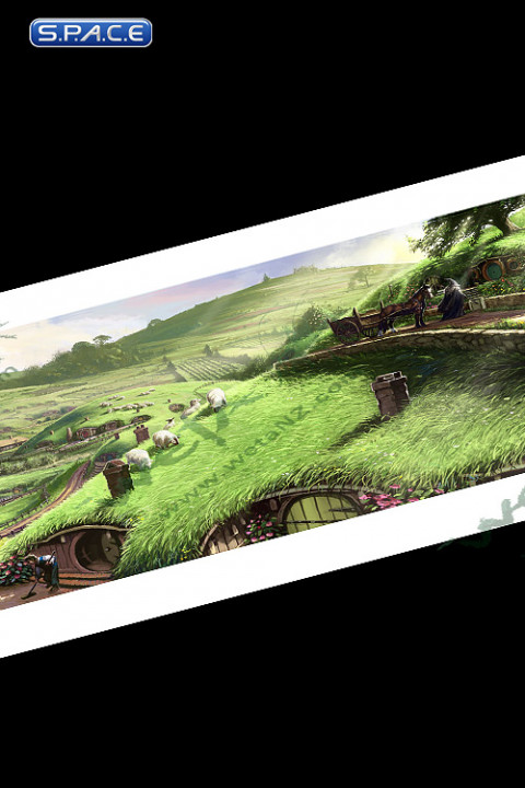 Disturber of the Peace Art Print (Lord of the Rings)