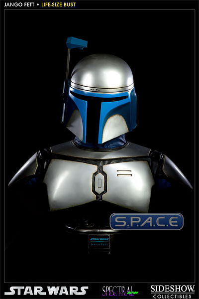 1:1 Jango Fett Life-Size Bust (Star Wars)