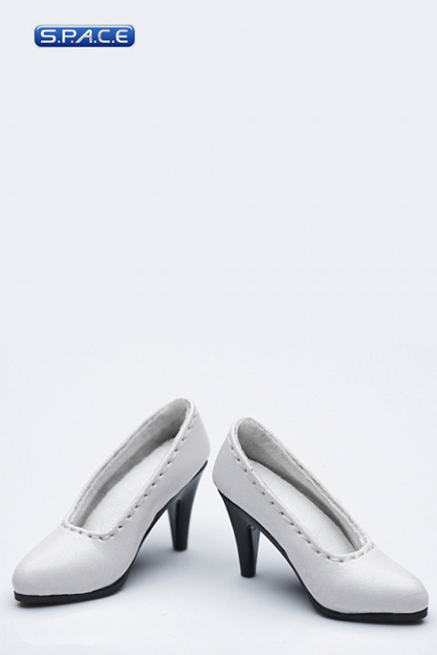 1/6 Scale Female High-Heel Shoes VCF2004-C (White)