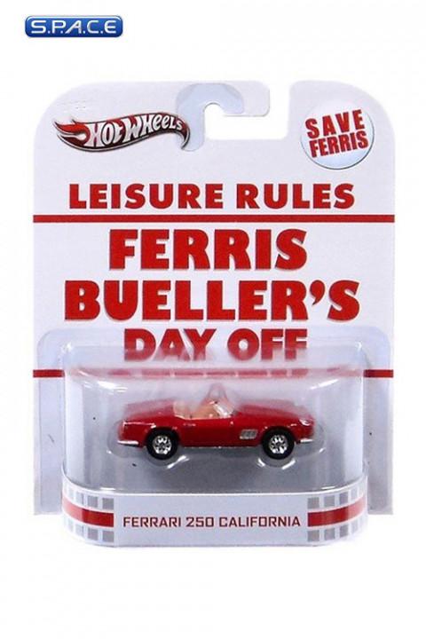 1 64 Ferrari 250 California Hot Wheels X8901 Retro Entertainment Ferris Bueller S Day Off