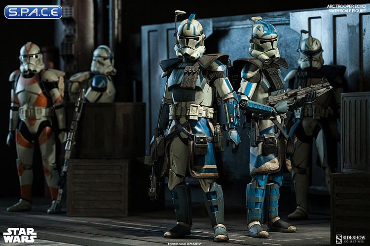 16 Scale Arc Clone Trooper Echo Phase Ii Armor Star Wars