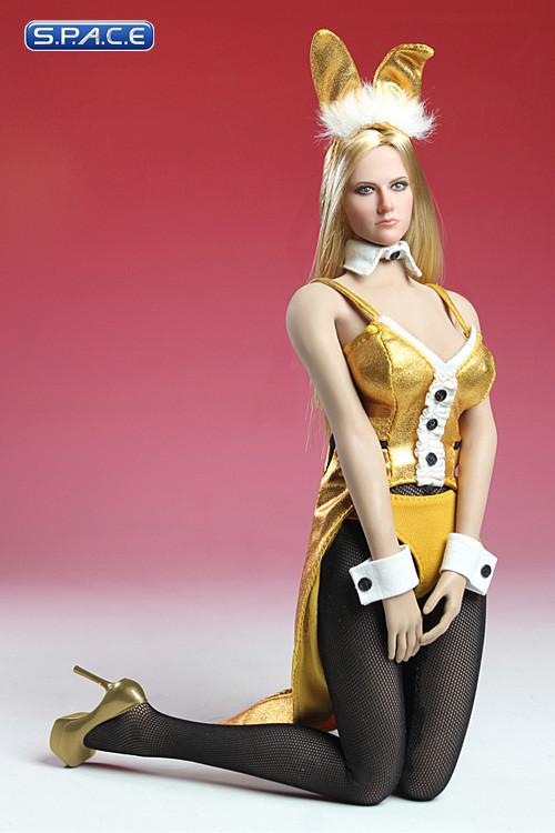 1 6 scale golden bunny costume s p a c e space. Black Bedroom Furniture Sets. Home Design Ideas